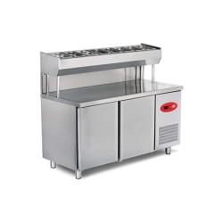Empero EMP.200.80.01-PSY Pizza ve Salata Hazırlık Buzdolabı-3 Kapılı
