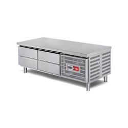 EMPERO Set Altı Buzdolabı (Fanlı) - 4x1/1 100 - 160x70x55 cm