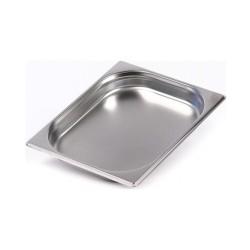 KAPP Gastronom Küvet-GN 1/2x40 krom küvet-standart
