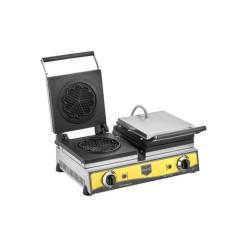 Remta W13 Çiçek Model Çiftli Waffle Makinesi 16 cm Çap