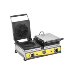 Remta W15 Çiçek Model Çiftli Waffle Makinesi 21 cm