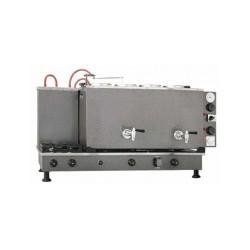 Sistem Çay Ocağı 4 Demlikli Tam Otomatik Statik, Elektrikli, LPG ve NG Uyumlu