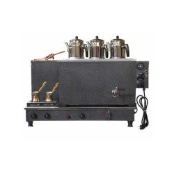 Sistem Tam Otomatik  Çay Ocağı-3 demlik kapasiteli-Statik Boyalı-Elk+Gaz