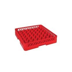 Tribeca Bardak Basketi-49 bölmeli-Kırmızı